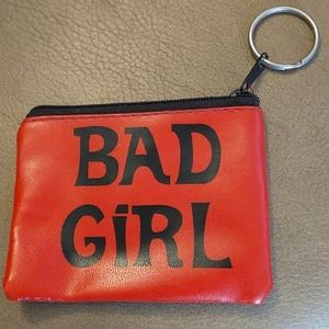 NWOT Bad Girl Coin Purse
